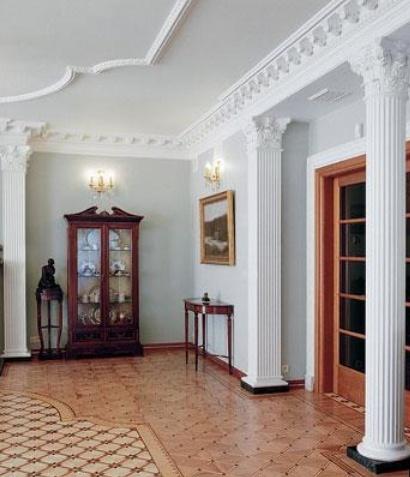 декоративные колонны в интерьере фото