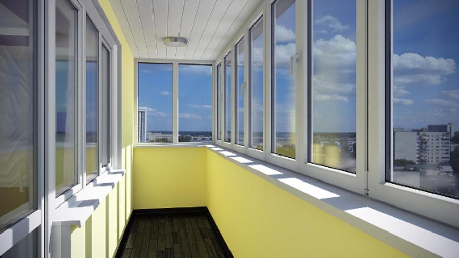Виды остекления балкона.